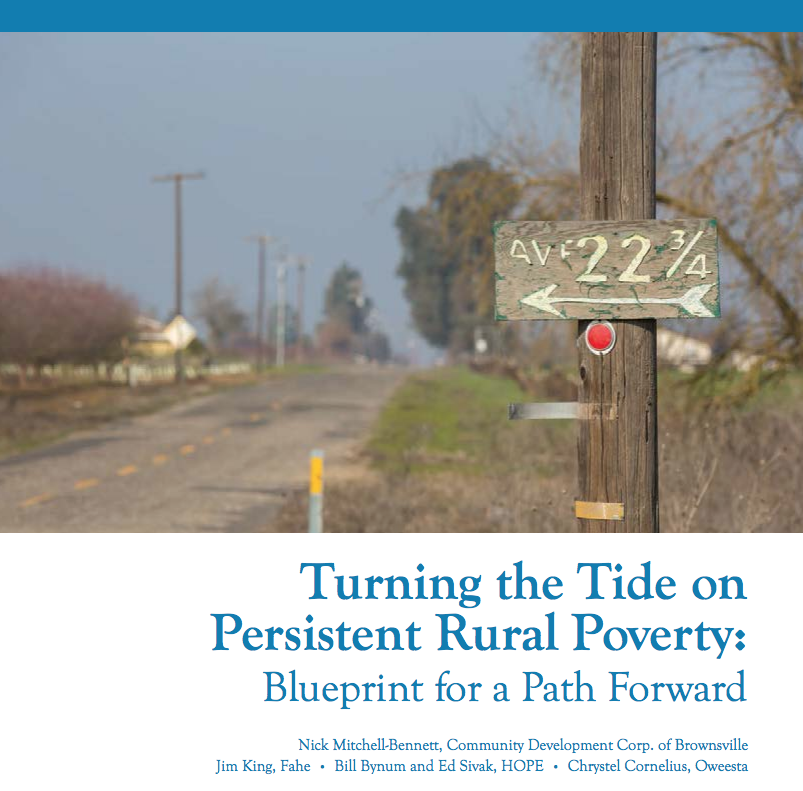 Turning the tide on persistent rural poverty blueprint for a path nick mitchell bennett community development corp of brownsville malvernweather Choice Image